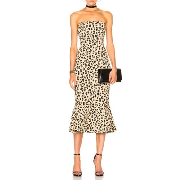 2f309beb2583 cinq a sept Dresses   Luna Leopard Mermaid Dress   Poshmark